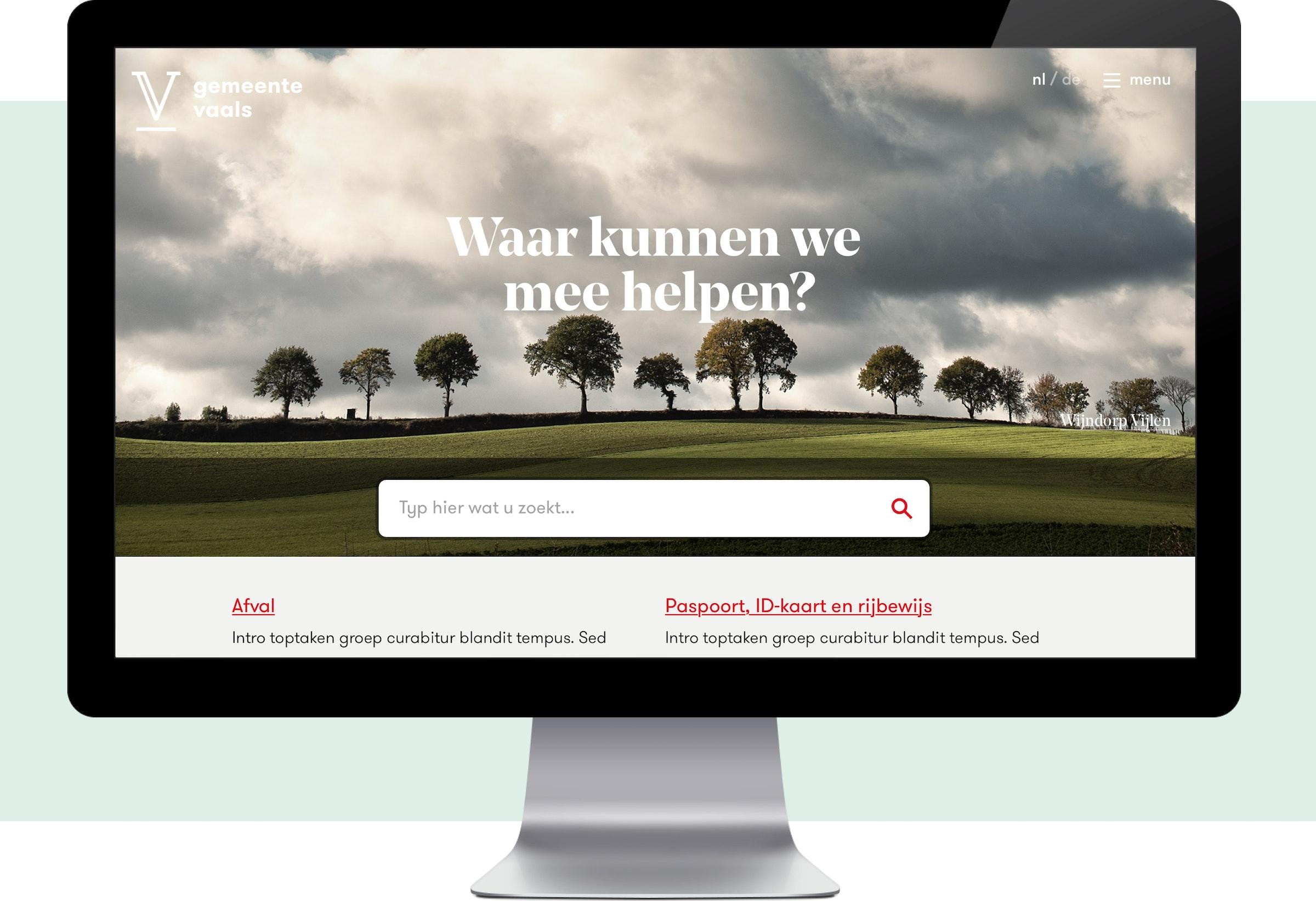 Vaals Website