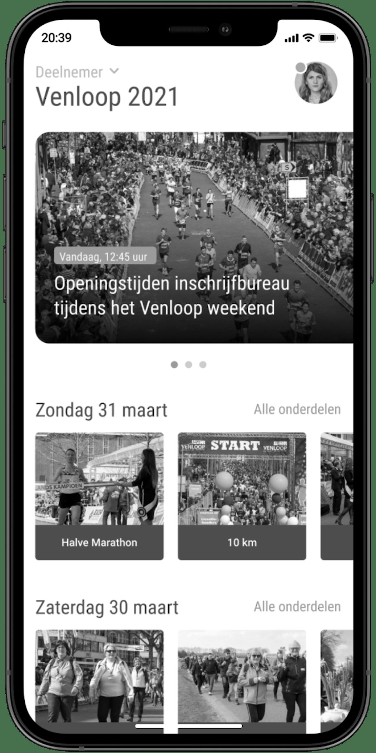 Venloop overzichtsafbeelding